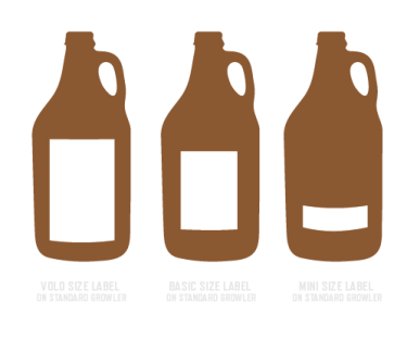 CRAFT BEER and GROWLER LABELS